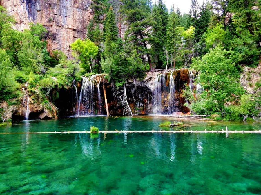 hanging lake, best lakes in the us