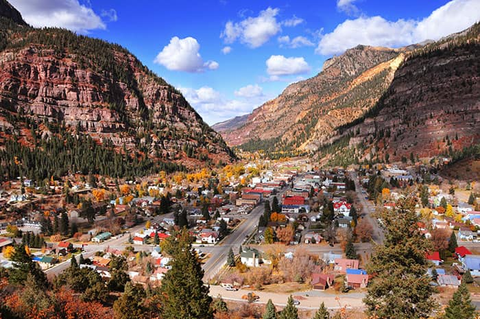 mountain towns in america, mountain villages