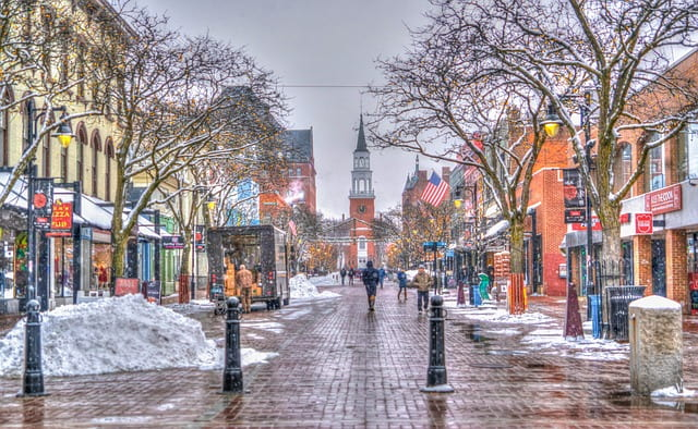 places to visit in winter usa, winter in vermont