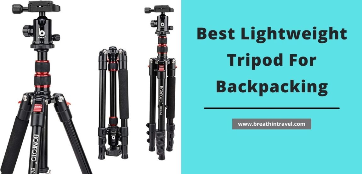 lightweight tripod for backpacking